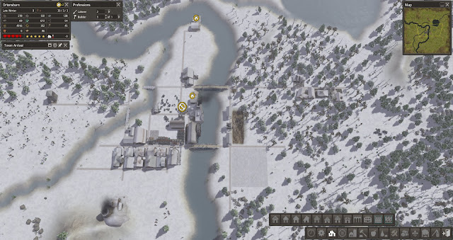 Winter Village | Banished Screenshot