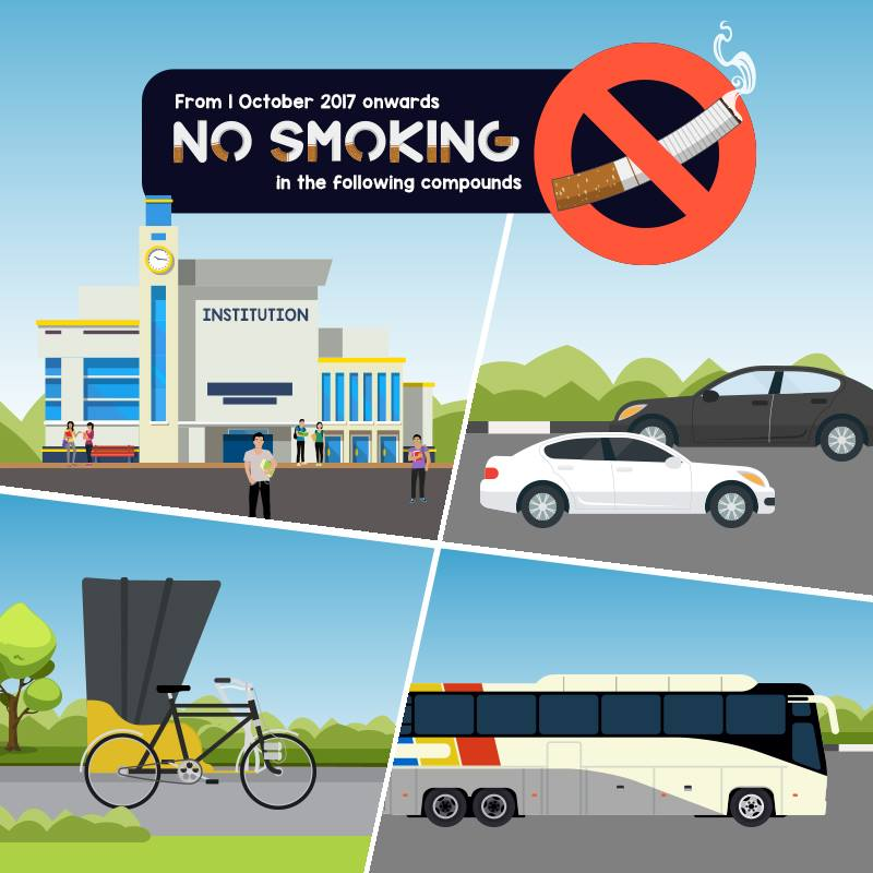 If Only Singaporeans Stopped to Think: Smoking ban extended to ...