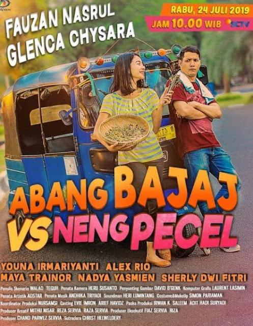 Nama Pemain FTV Abang Bajaj VS Neng Pecel SCTV