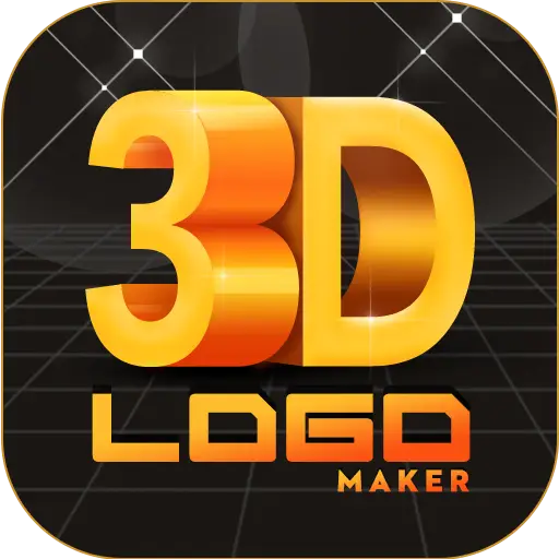 Aplikasi-Aplikasi Pembuat Logo - 3D Logo Design