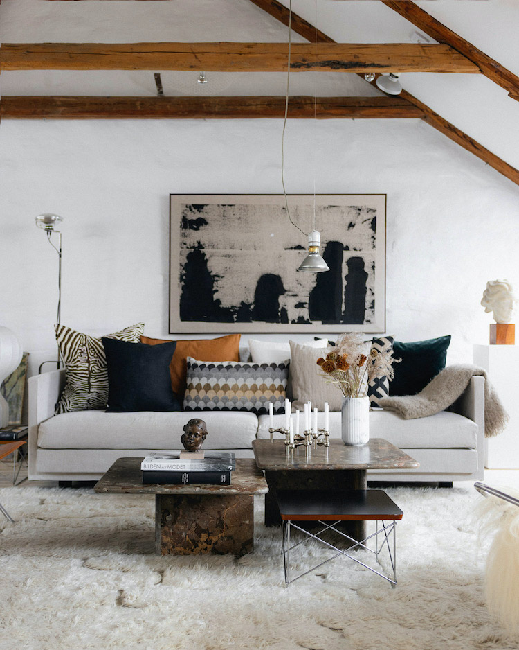 A Malmö Home Full of Design Classics And Art