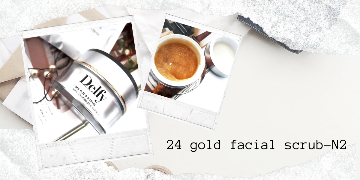 24 GOLD FACIAL SCRUB- N2