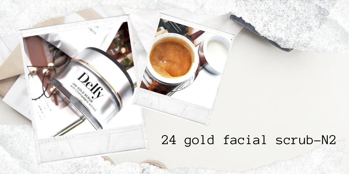 24 GOLD FACIAL SCRUB- N2