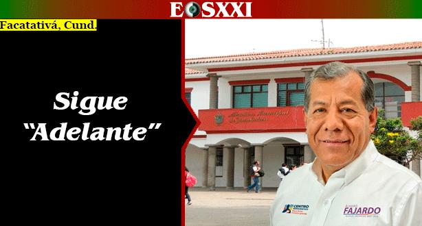 Álvaro Fajardo no dejará de ser candidato a la Alcaldía