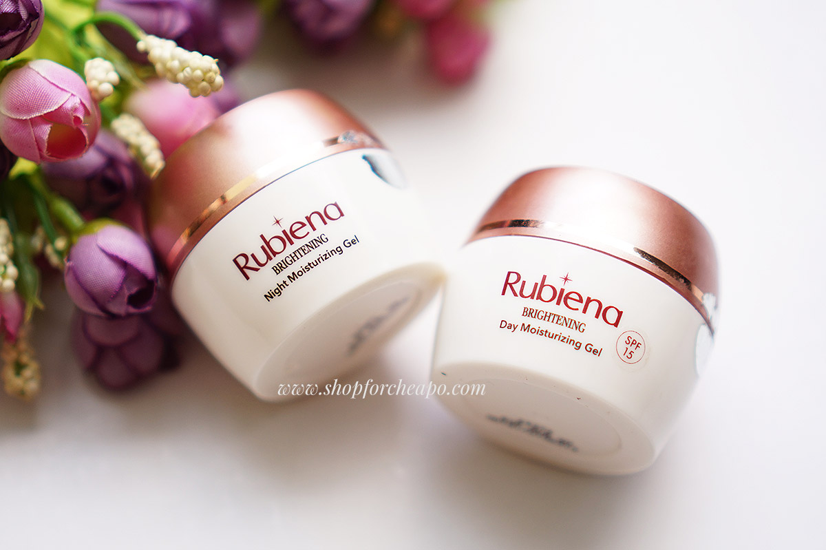 Rubiena Brightening Day & Night Moisturizing Gel Review
