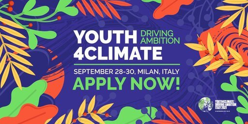 United Nations COP26 Youth4Climate Travel Bursary 2021