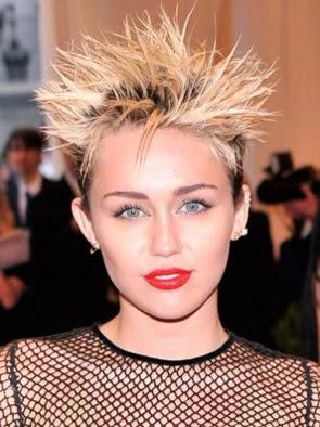 potongan style rambut jabrik banget wanita tahun 2013