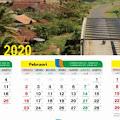Download Kalender 2020 Indonesia Lengkap (CDR,PNG,JPG,PDF,HD,JAWA)