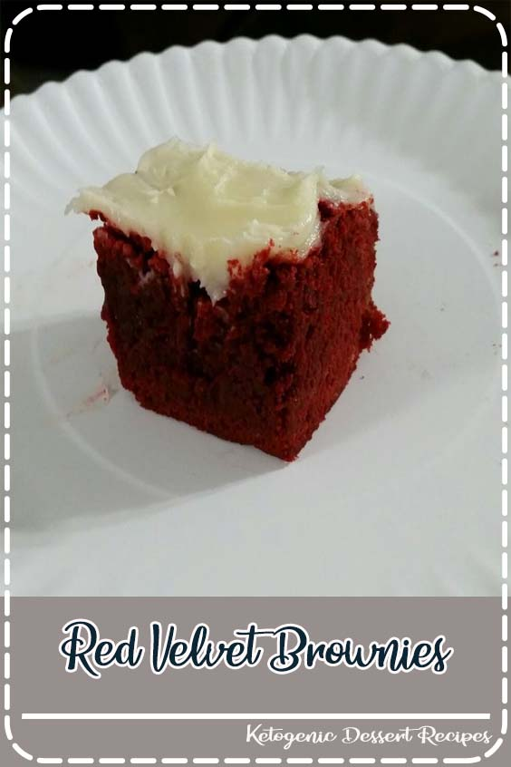 These red velvet brownies are seriously the perfect brownie recipe Red Velvet Brownies