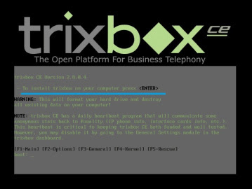 Langkah Langkah Instal Trixbox di Virtual Box