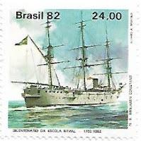 Selo navio-escola Benjamin Constant