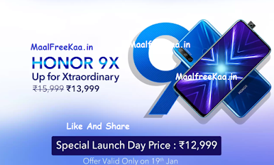 Honor 9X OFFER