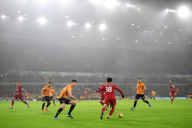 Wolves 1-2 Liverpool: Firmino extends Reds' EPL winning streak to 14 games
