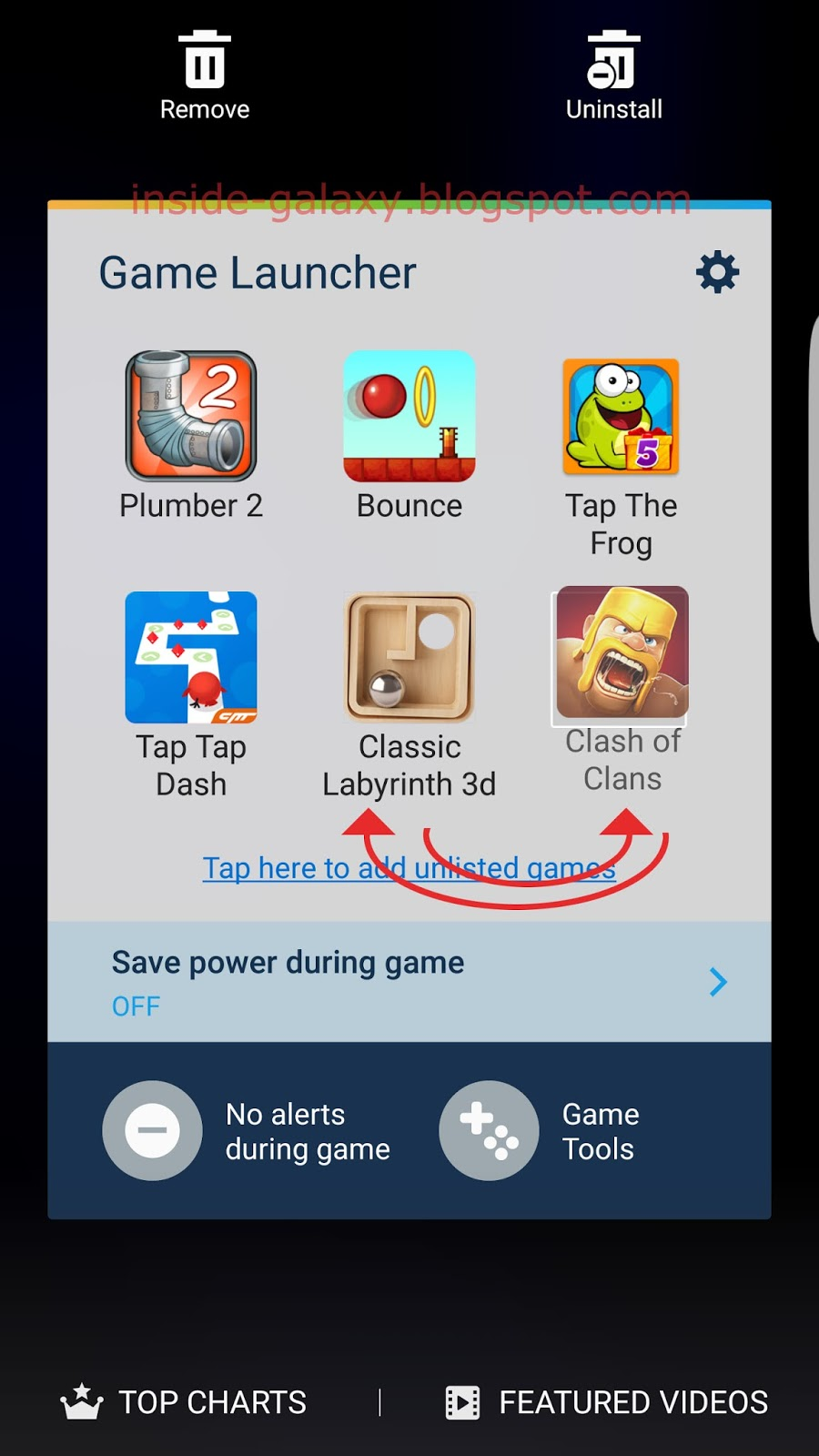 Samsung Galaxy S7 Edge: How to Use Game Launcher Feature in