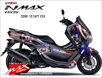 All new Nmax captain America
