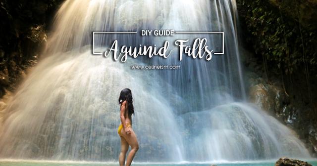diy guide aguinid falls oslob