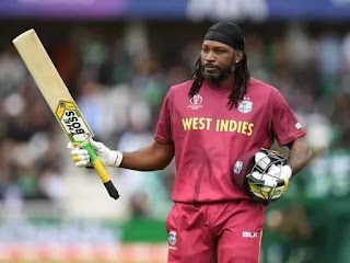 Chris Gayle created history by scoring 14 thousand runs in T20