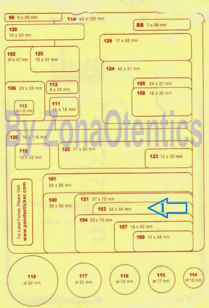 Format Stiker Undangan 103 : format, stiker, undangan, ZonaOtentics:, Membuat, Label, Undangan, Dengan, Corel