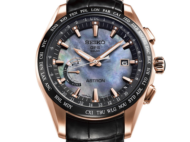 Seiko Astron GPS Solar World-Time Edición limitada Novak Djokovic1