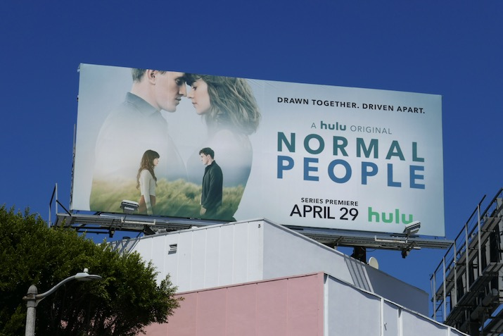 Normal People series premiere billboard