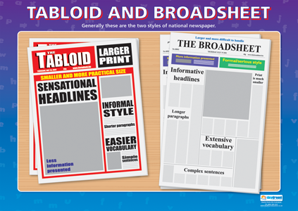 Comparing a tabloid and a broadsheet essay