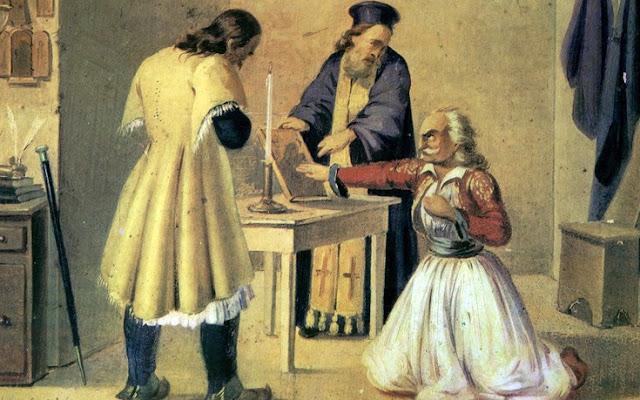 Το 1814 Ανήμερα της ύψωσης του Τιμίου Σταυρού ιδρύθηκε η «Φιλική Εταιρεία»