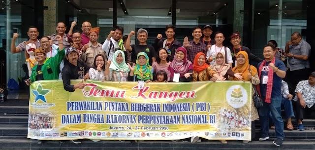 Relawan Literasi Tubaba Hadir di Rakornas Perpustakaan Nasional