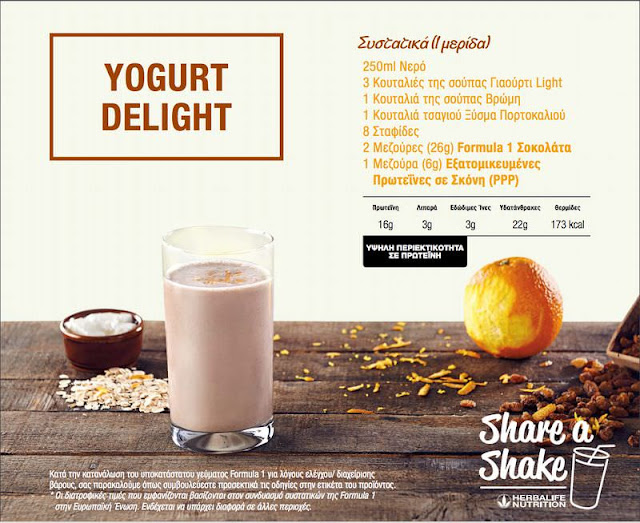 syntagh gia shake herbalife