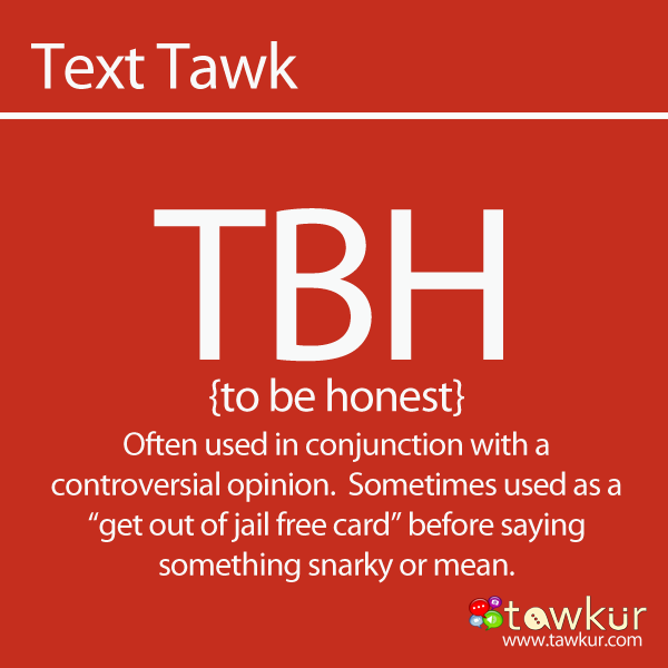 What does TBH mean? Definition Full Form - What Does TBH Mean