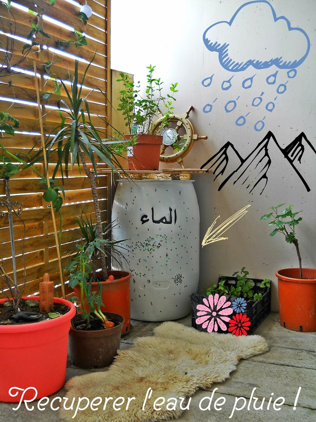 le boudoir des akhawettes r cuperer l 39 eau de pluie. Black Bedroom Furniture Sets. Home Design Ideas