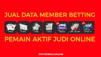 Database Member Betting Pemain Judi Online - DokterBola.online