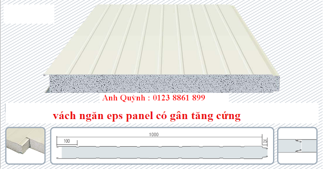Vach ngăn panel eps