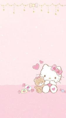 wallpaper hp hello kitty