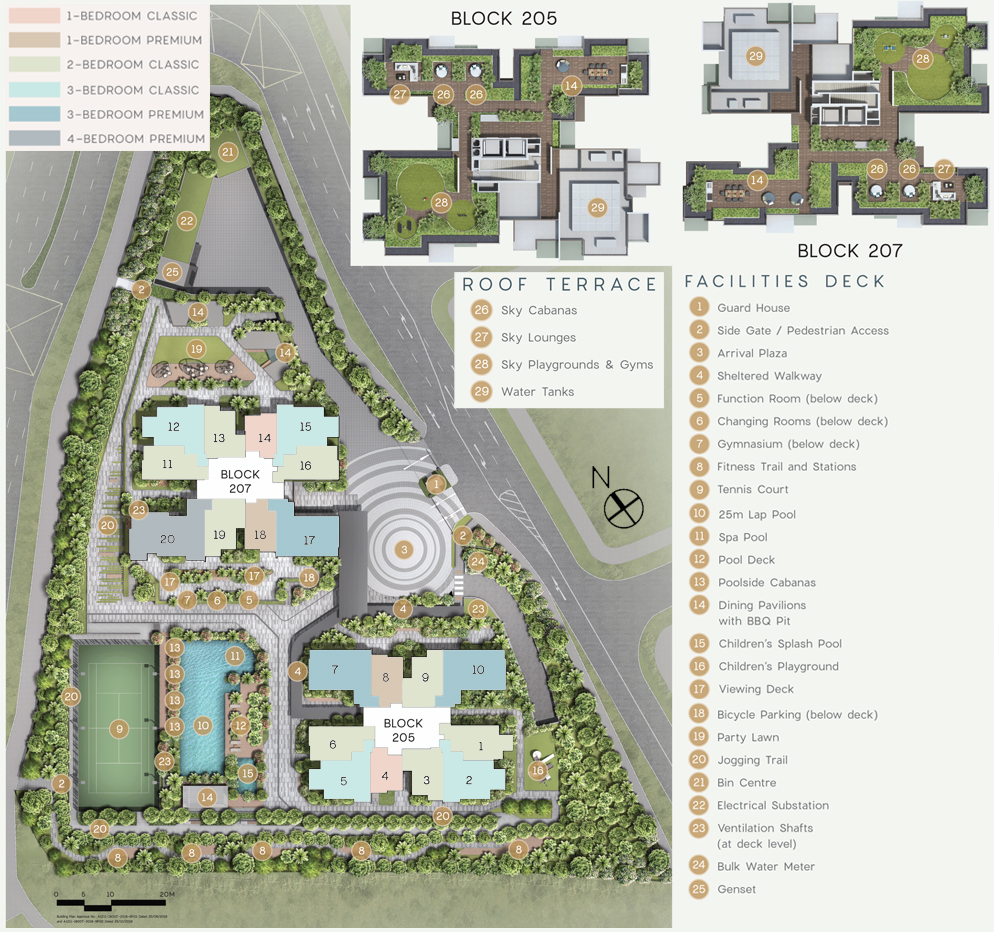 Urban Treasures - Site Plan