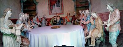 Esculturas de Aleijadinho em Congonhas, Minas Gerais - Brasil