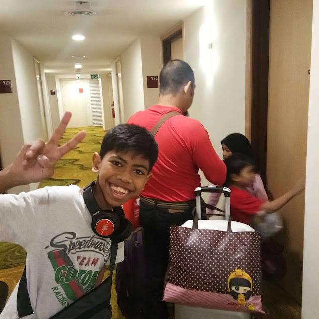 Melepak sekejap di Hotel Everly Putrajaya dan Alamanda