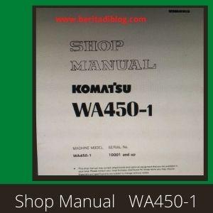 Shop manual wa450-1 wheel loader komatsu