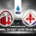 Prediksi Pertandingan AC Milan vs Fiorentina