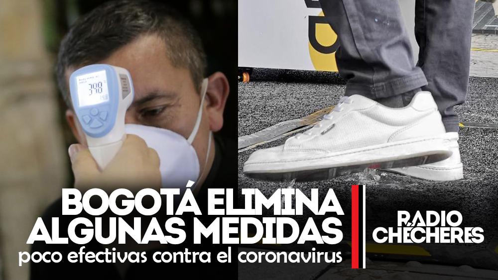 Bogotá elimina algunas medidas poco efectivas contra el coronavirus