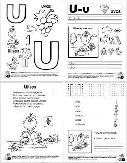 Cuadernillo de Lectoescritura - El trompito de las letras