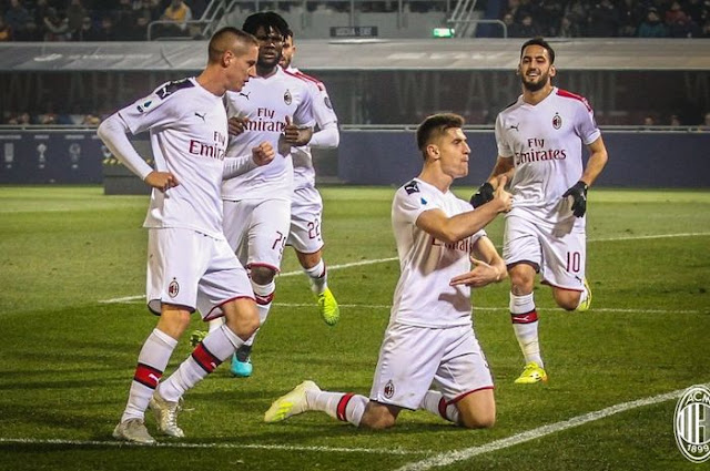 Starting XI AC Milan v Sampdoria - Piatek Starter, Ibrahimovic Reserve