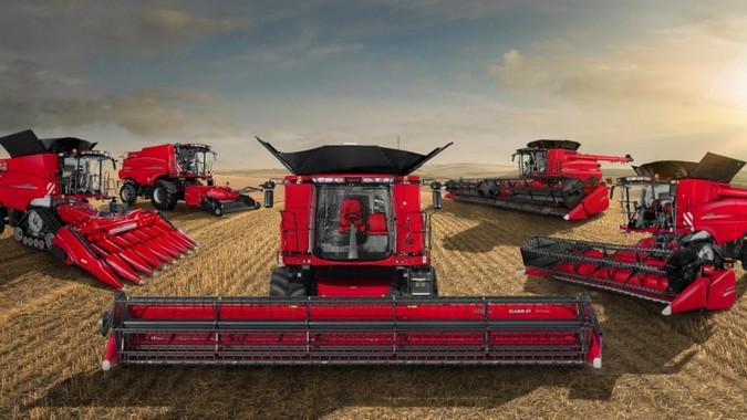 Produtores rurais reconhecem a confiabilidade e a tecnologia das máquinas da Case IH