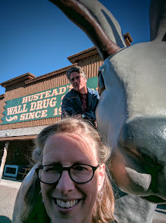 Wall Drug, Wall, South Dakota is a long-time tourist attraction