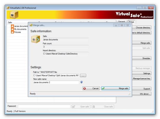 Virtual Safe Professional 3.2.3 - Tạo môi trường ảo bảo vệ dữ liệu