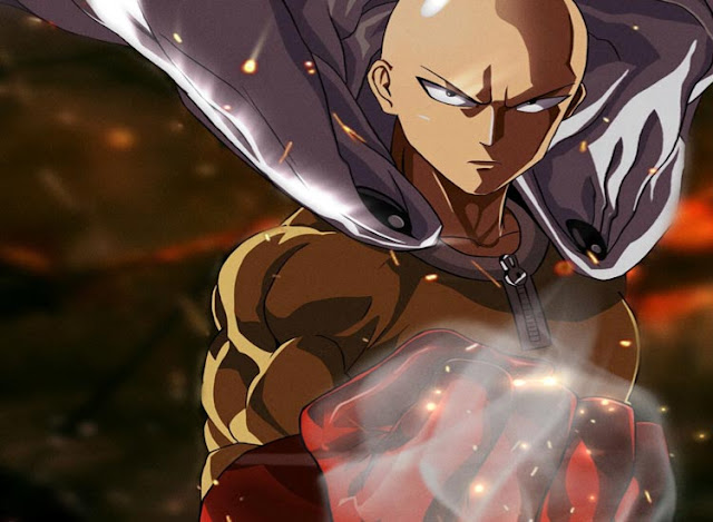 Saitama One Punch Wallpaper Engine