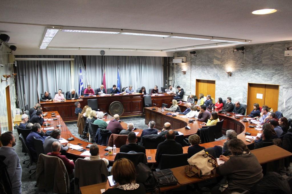 Συνεδρίαση Επιτροπή Διαβούλευσης Δήμου Λαρισαιων (ΦΩΤΟ)