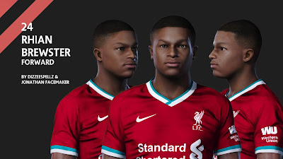 PES 2020 Faces Rhian Brewster by DizzeeSpellz & Jonathan