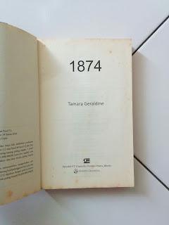 Novel Bekas 1874 Penulis Tamara Geraldine