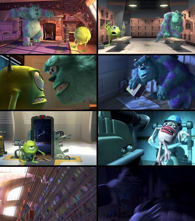 Monsters Inc 2001 Dual Audio Hindi 720p BluRay