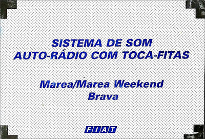 Sistema de som Fiat Marea/ Marea Weekend e Brava